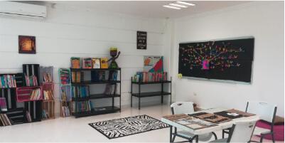 Salón de trabajo y de lectura